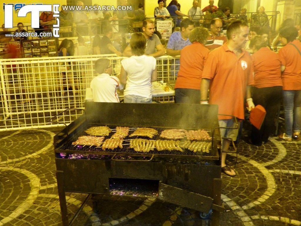 XIII^ SAGRA DELLA SALSICCIA -  VISTA DA RINO CONCIALDI - ALIA 10/08/2015