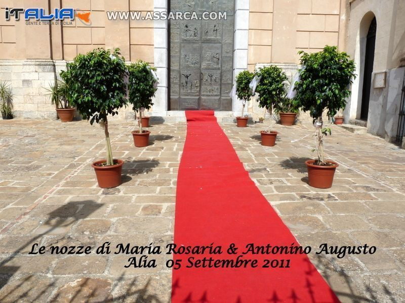 LE NOZZE DI MARIA ROSARIA & ANTONINO AUGUSTO - ALIA  05 SETTEMBRE 2011