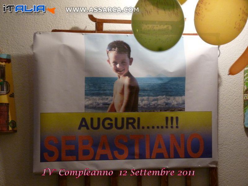IL IV° COMPLEANNO DI SEBASTIANO TODARO .-  ALIA  CONTRADA BOSCO 12 SETTEMBRE 2011