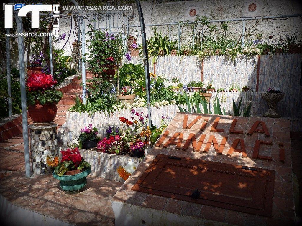 LA VILLA/GIARDINO DI LILLA IANNACI - MARZO 2016 (LA CHIUSIDDA)