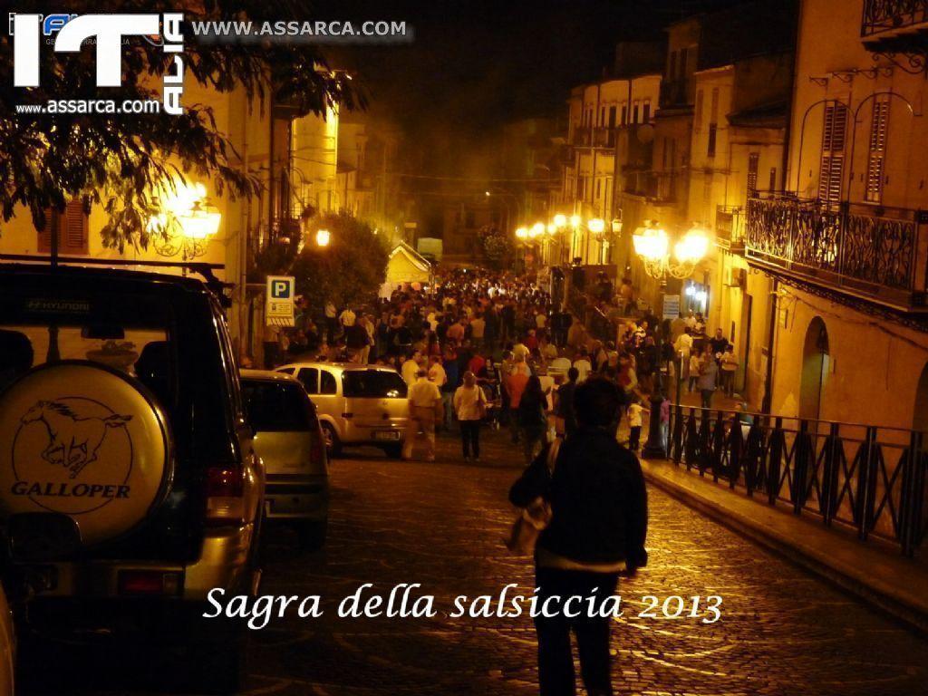 ALIA 10 AGOSTO 2013 - SAGRA DELLA SALSICCIA -