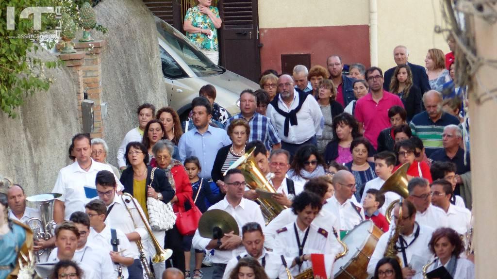 Immagini della Processione di Santa Rosalia
