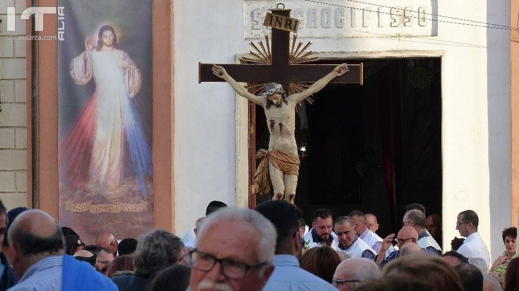 FESTA DEL SANTISSIMO CROCIFISSO DI MARCATOBIANCO - PROCESSIONE DI DOMENICA 27 MAGGIO 21018
