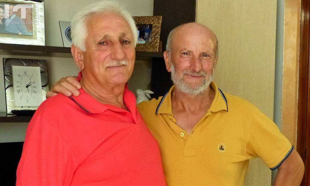 Si rivedono dopo quarantasei anni.