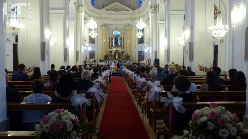 LE NOZZE DI GIUSY & FRANCESCO - SANTUARIO MADONNA DELLE GRAZIE - ALIA  18 AGOSTO 2018