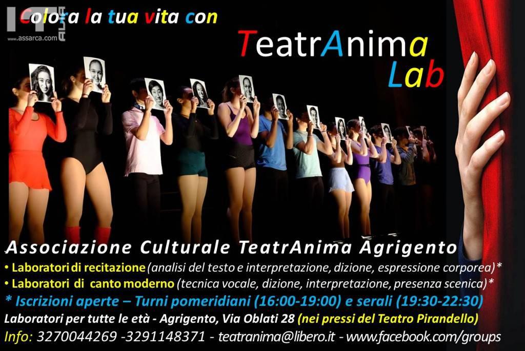 TeatrAnimalab Agrigento - Laboratori di recitazione e canto moderno