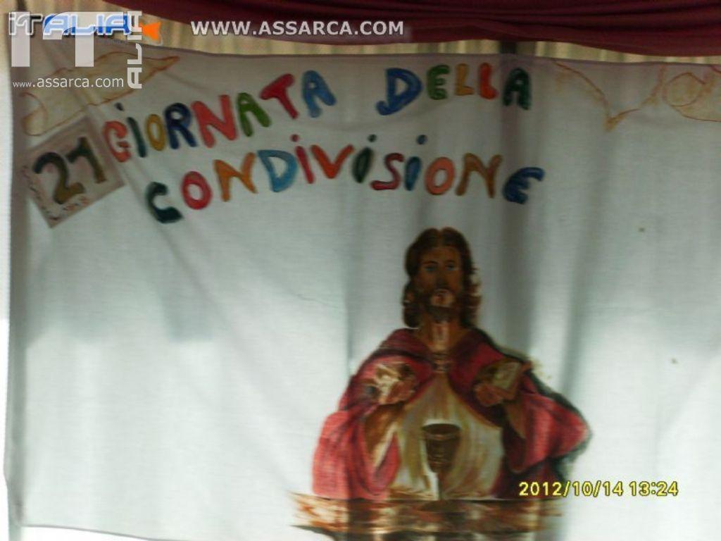 """U.N.I.T.A.L.S.I. SOTTO SEZ. CEFALU` """" 21° GIORNATA DELLA CONDIVISIONE"""" VALLELUNGA 14.10.2012"""