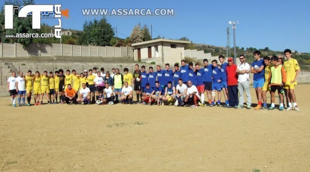 MEMORIAL DIRIGENTI DEL CALCIO ALIESE - 21-10-2012
