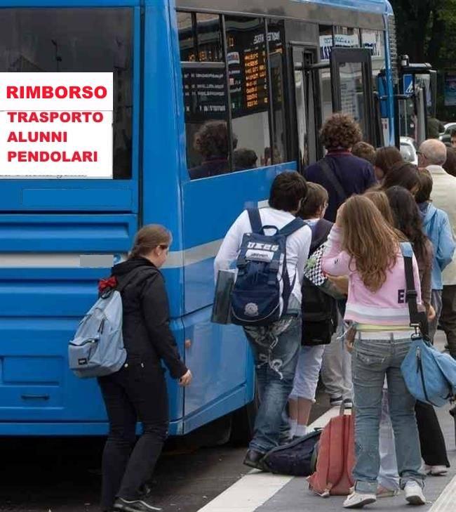 RIMBORSO ABBONAMENTI - TRASPORTO ALUNNI PENDOLARI A.S. 2018/2019.