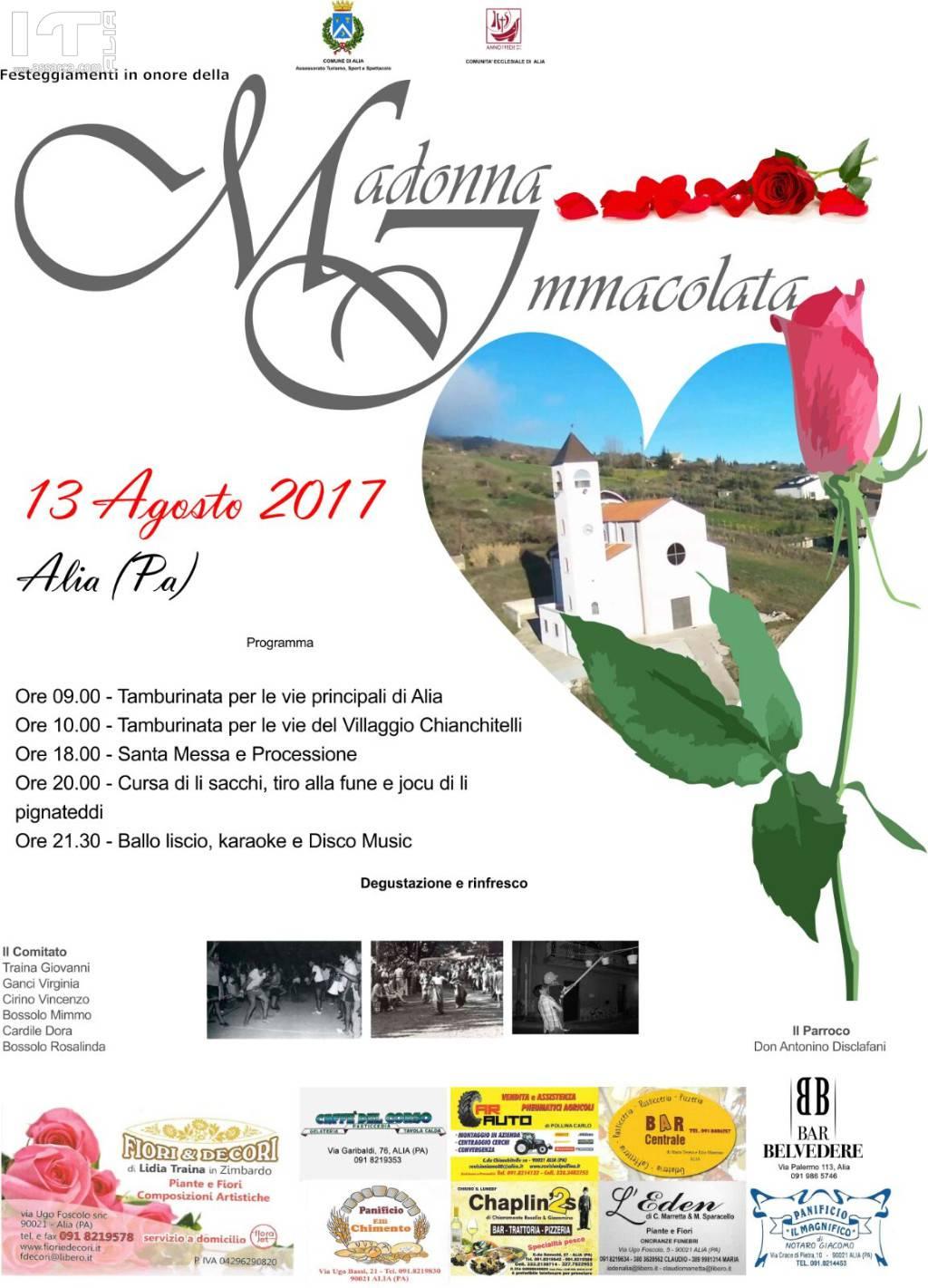 FESTIVITÀ MADONNA DEL VILLAGGIO