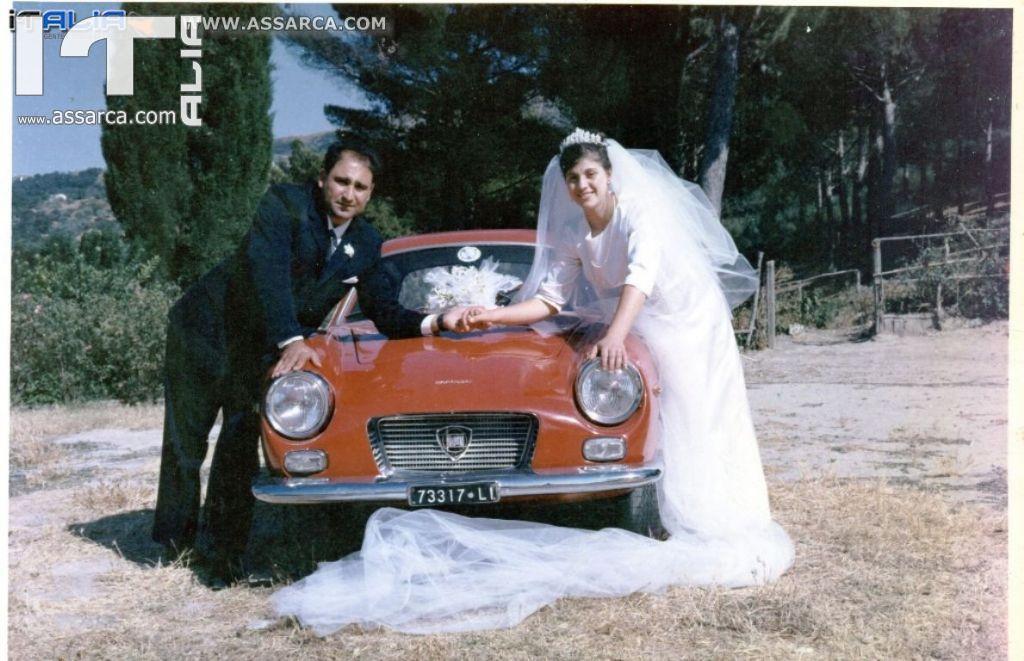 ERA IL 13 AGOSTO DEL 1966 - LE NOZZE DI GIUSEPPINA SANGIORGI CON SALVATORE DI PASQUALE