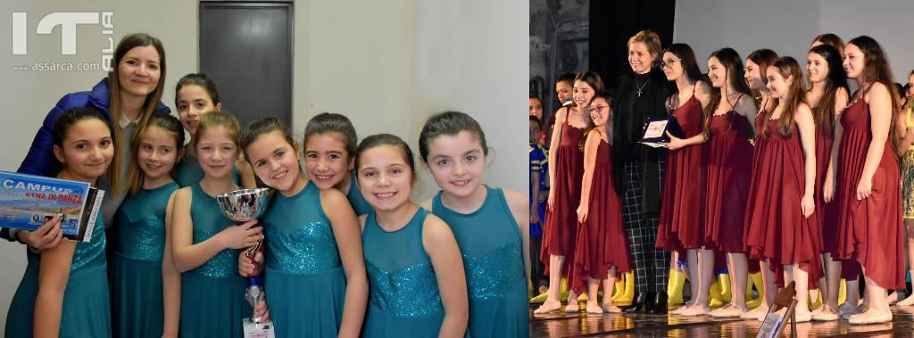"""La scuola di danza del Pro Alia al concorso nazionale """"Pas de danse"""" a Giarre"""