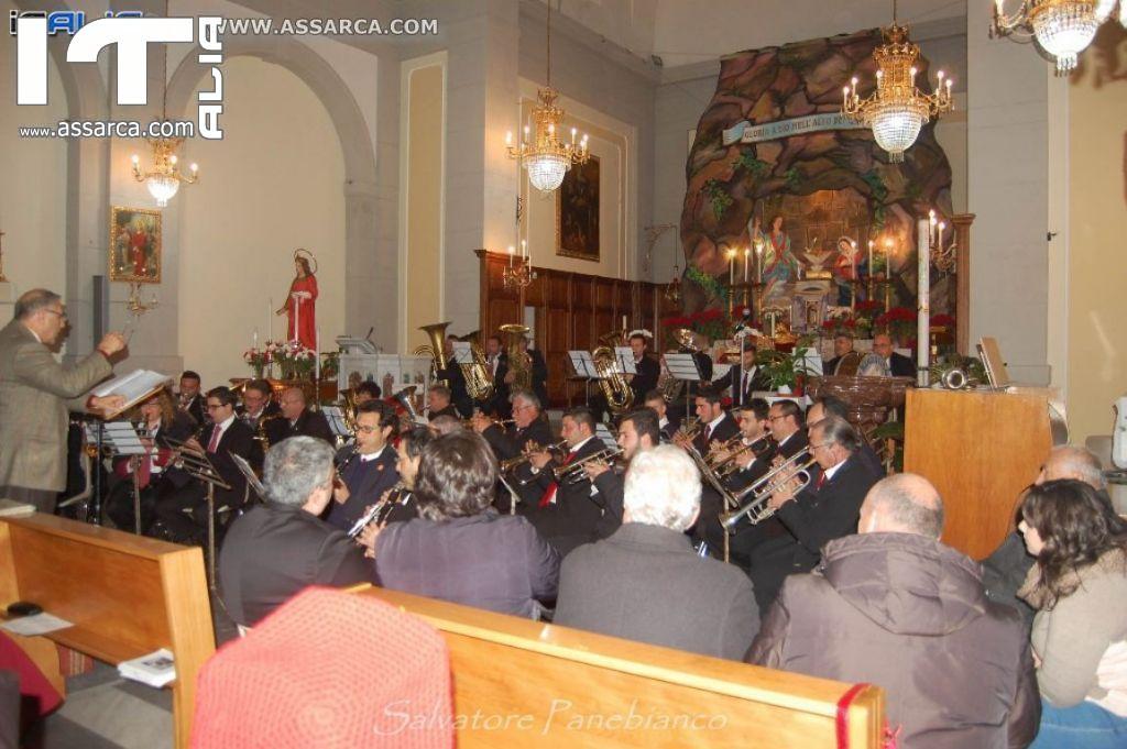 MALVAGNA -  CONCERTO DI NATALE - PARROCCHIA S.ANNA - 21/12/2015