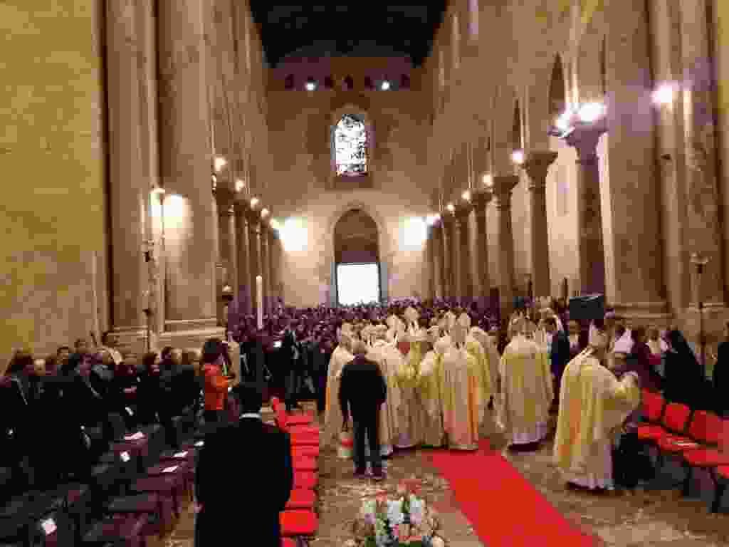 cefal� insediamento nuovo vescovo  Giuseppe Marciante