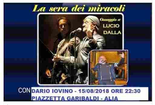 Da Piazzetta Garibaldi ALIA - LA SERA DEI MIRACOLI - con Dario Iovino - ( IN ATTESA DIRETTA LIVE )