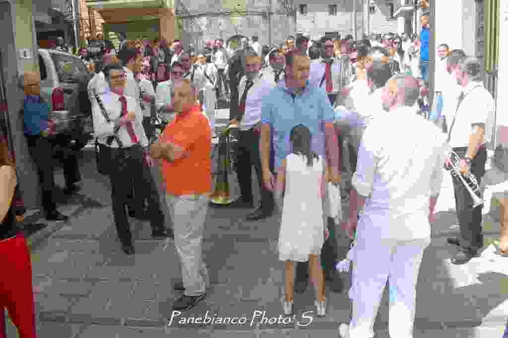 SANTA DOMENICA VITTORIA (ME)  Processione Sant`Antonio Abate - 03/09/2017