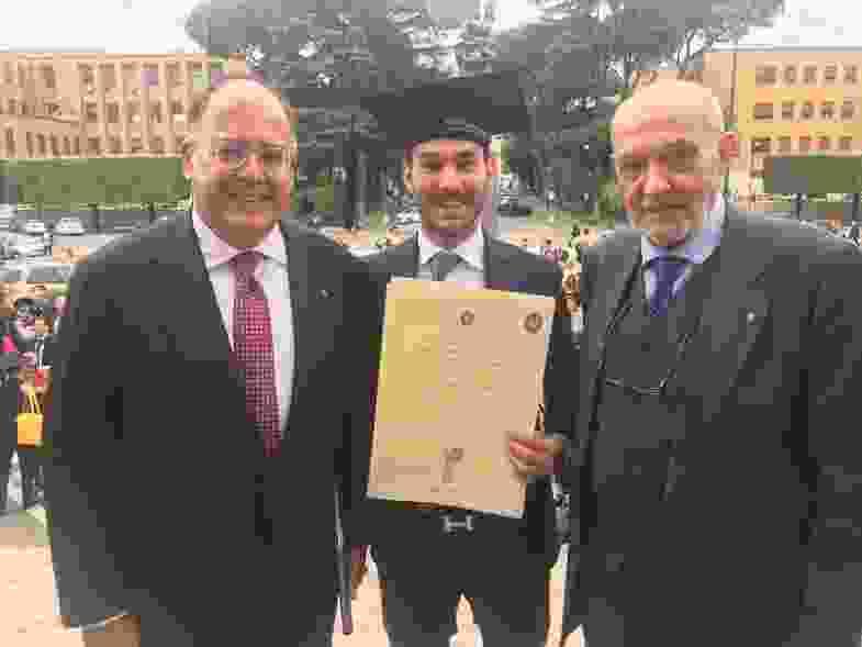 Studente palermitano premiato alla Sapienza di Roma, tra le eccellenze dell'Ateneo