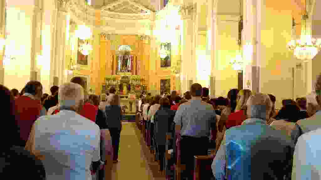 Festa del Corpus Domini 2017 -  Momenti della Santa Messa e Processione.