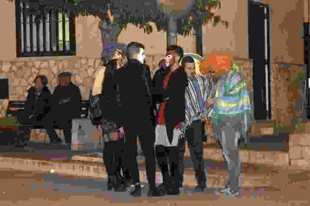 Sfilata di carri allegorici e maschere a Roccapalumba. 28 Febbraio 2017