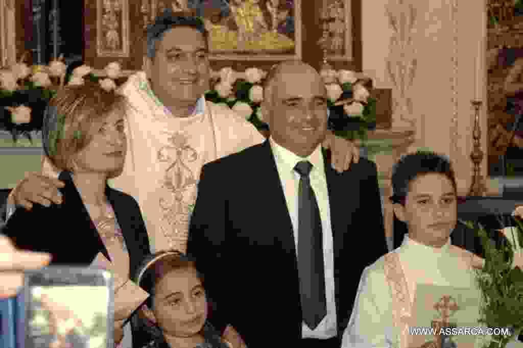 La prima comunione di Mario  Iovino. Alia 14 maggio 2017