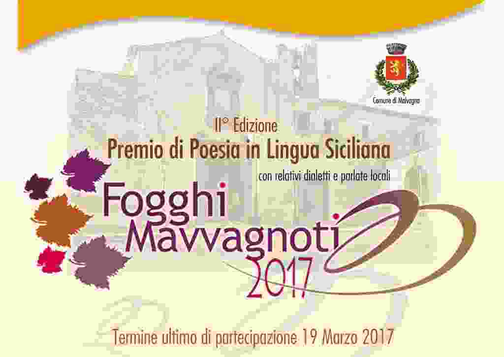 MALVAGNA: PREMIO DI POESIA SICILIANA