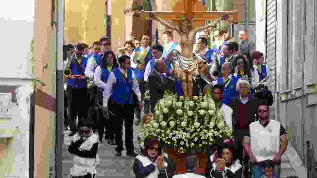 Processione del Santissimo Crocifisso - Alia 14 Maggio 2017