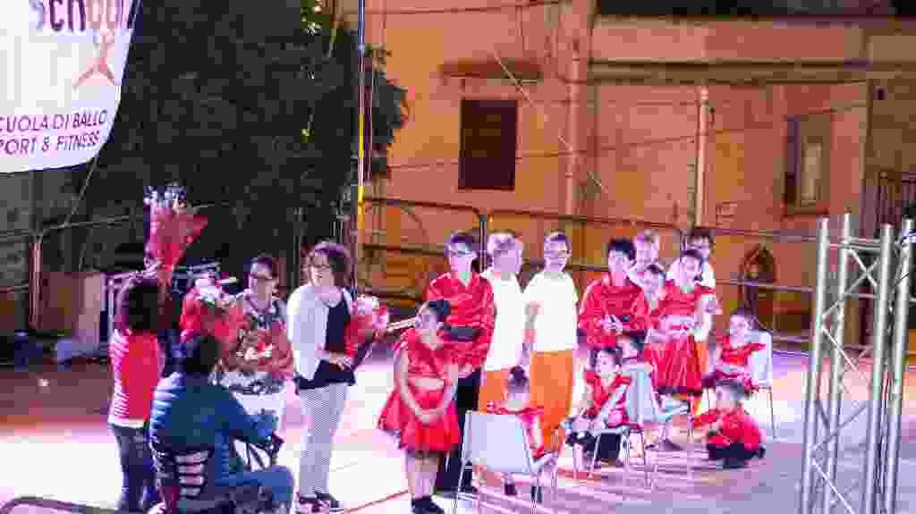 Saggio di danza - Valledolmo 11 agosto 2017 - Maestro Scaccia Luciano  Ultima parte