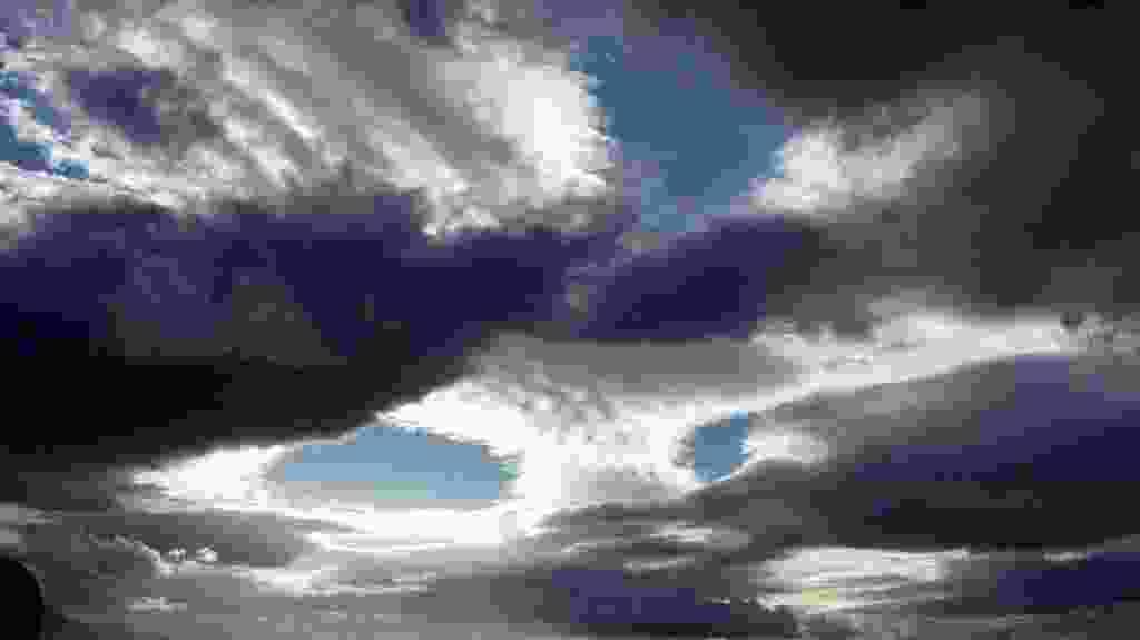 Guarda che cielo !   -  Le nuvole di Domenica 26 Novembre 2017
