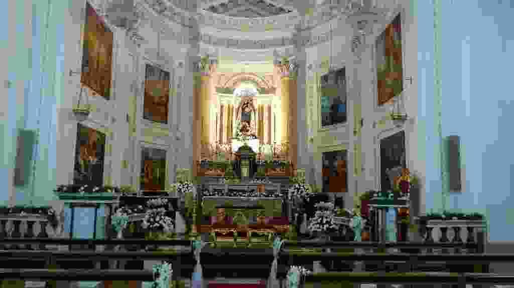 Le nozze di Maria Grazia Nasca & Domenico Di Carlo Santuario Madonna delle Grazie  07 Luglio 2018    -1^ parte
