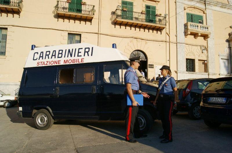 """PALERMO - """"ACCHIANATA"""" di SANTA ROSALIA : servizi dei carabinieri"""