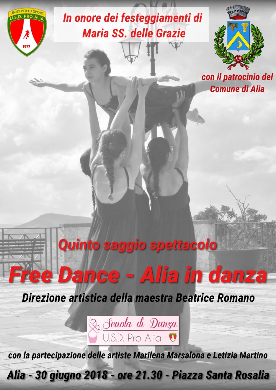 Quinto saggio spettacolo Free dance - Alia in danza