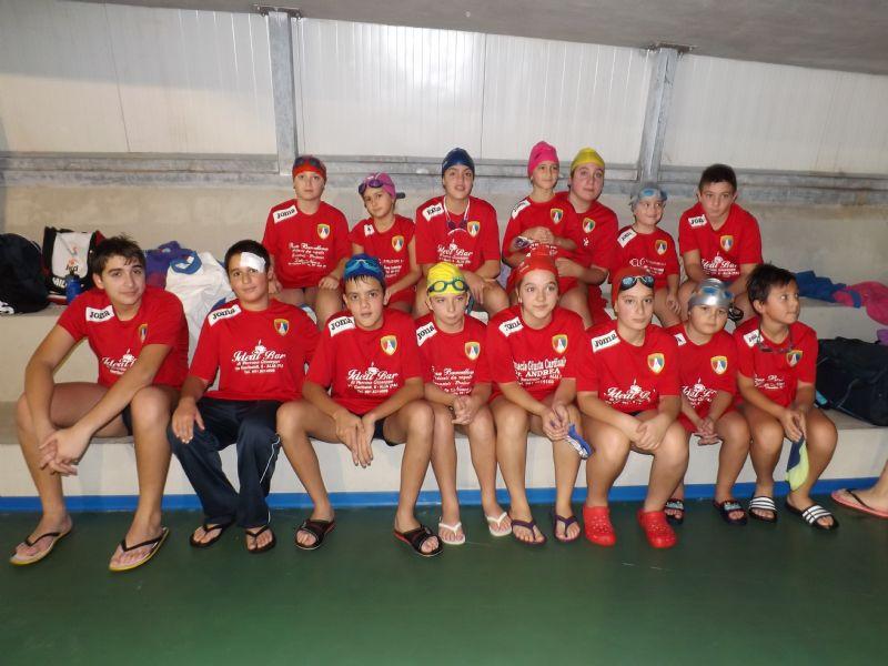 Alia (PA) - Campionato regionale di nuoto MSP - seconda tappa