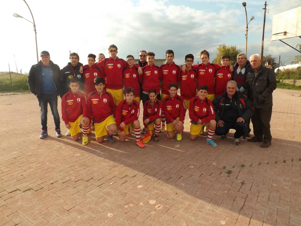 Campionato regionale fascia B - Pro Alia-Sport Village Tommaso Natale