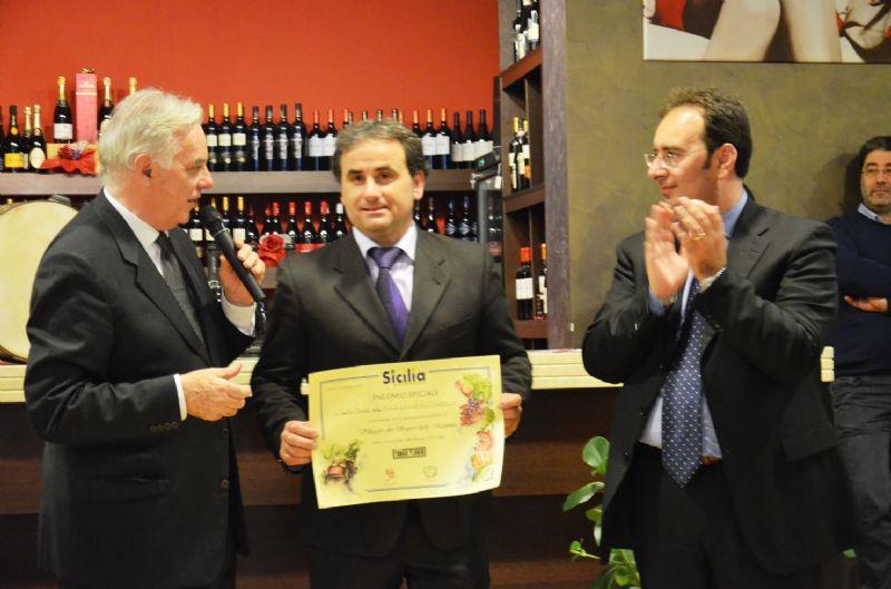 GANGI, SICILIA EXCELLENCE 2012: PREMIO AL DIVINO