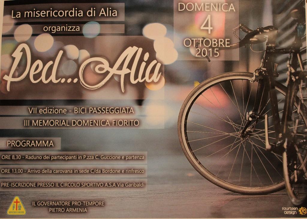 PED ALIA VII EDIZIONE,   Domenica 4 Ottobre 2015