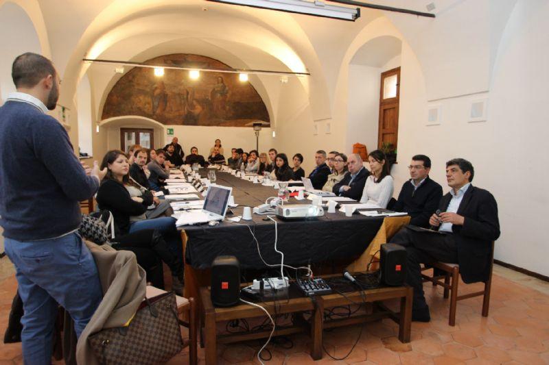 IL COMUNE DI GERACI SICULO RAPPRESENTA L�ITALIA AL MEETING INTERNAZIONALE DI ROMA