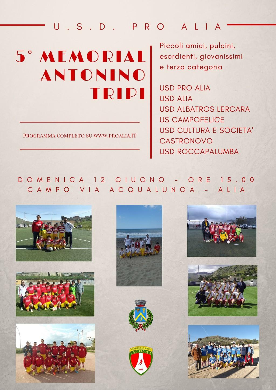 Alia (PA) - Quinto Memorial Antonino Tripi,