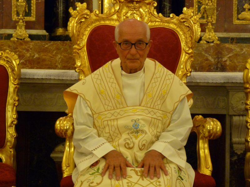 Alia : Concelebrazione Eucarisitica di ringraziamento per il ministero Pastorale del Rev.do Parroco Don Antonino Disclafani
