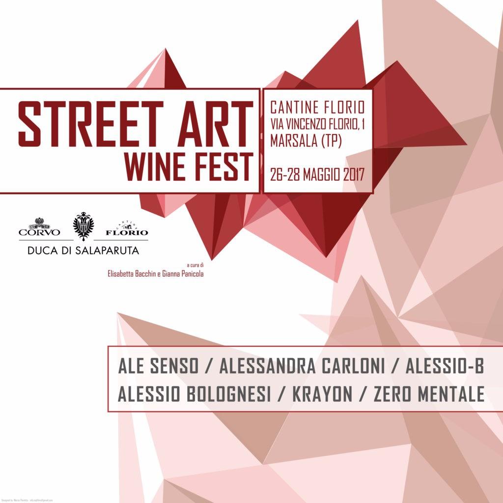 Street Art Wine Fest, a Marsala il primo festival sulla street arte e il vino