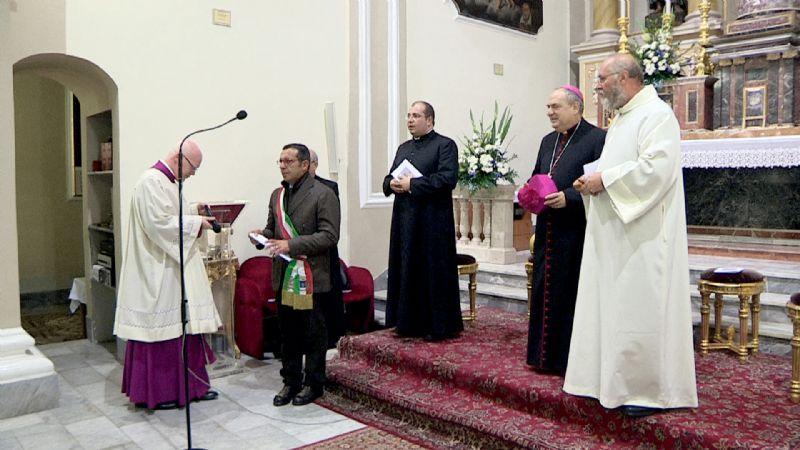 Caltavuturo: Insediato il nuovo parroco del paese, don Nicola Crapa