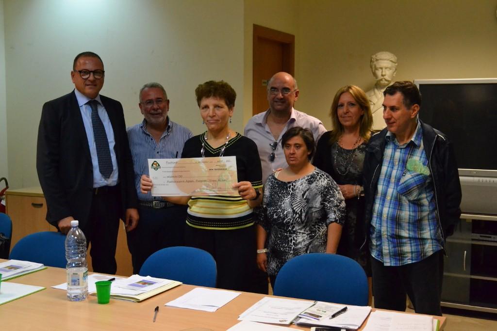 L�Igp Pachino tra i sostenitori del progetto �Dopo di noi� dona un contributo all�associazione Agape