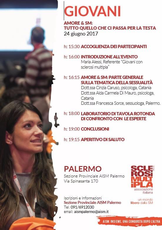 AISM PALERMO - GIOVANI AMORE & SM - TUTTO QUELLO CHE CI PASSA PER LA TESTA