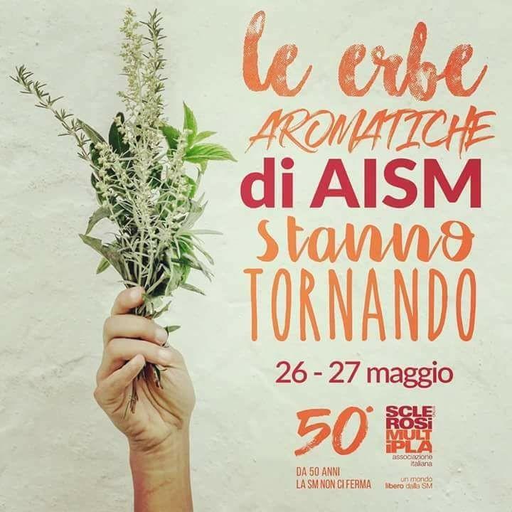 PALERMO 26 e 27 MAGGIO 2018, LE ERBE AROMATICHE DI AISM STANNO TORNANDO