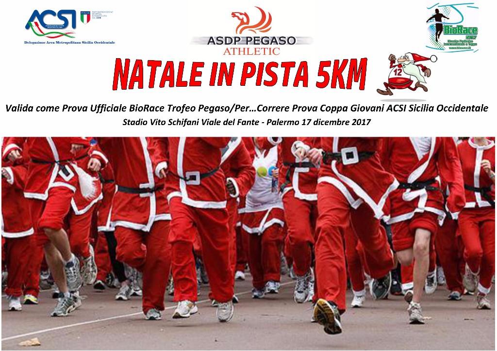 Podismo: Colpo grosso al Natale in Pista 5km centinaia di atleti iscritti per l'ultima prova del BioRace 201
