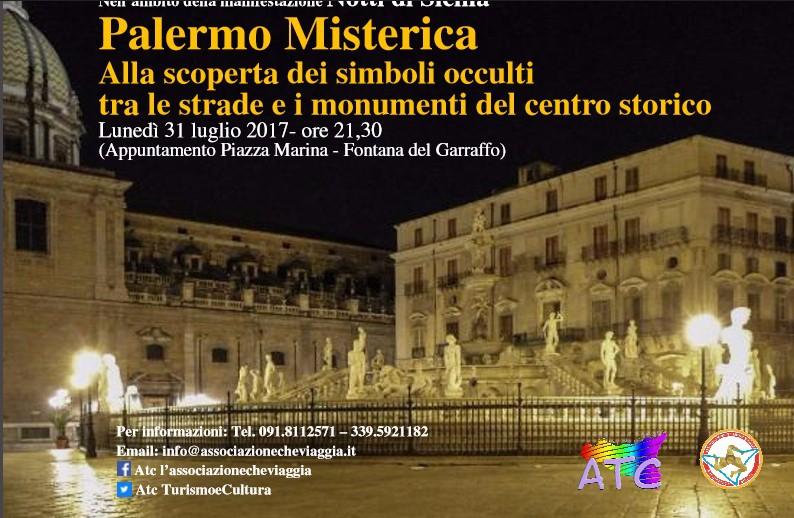 Palermo Misterica. Alla scoperta dei simboli occulti fra le strade e i monumenti del centro storico