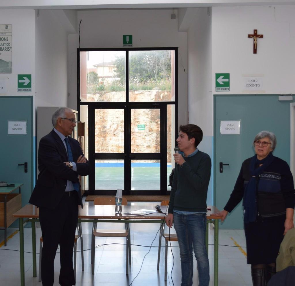 A lezione di legalità con Ferdinando Guarino, già questore di Enna