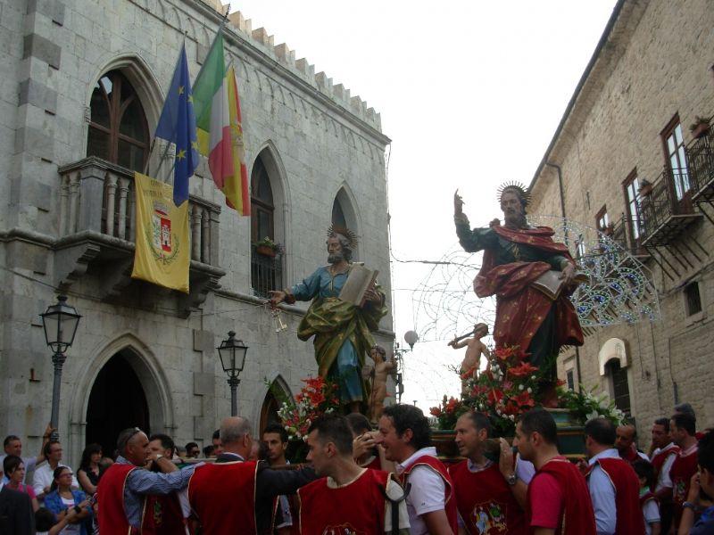 Petralia Soprana: �U FISTINU� IN ONORE DEI S.S. APOSTOLI PIETRO E PAOLO SI CONCLUDERA� IL 29 GIUGNO