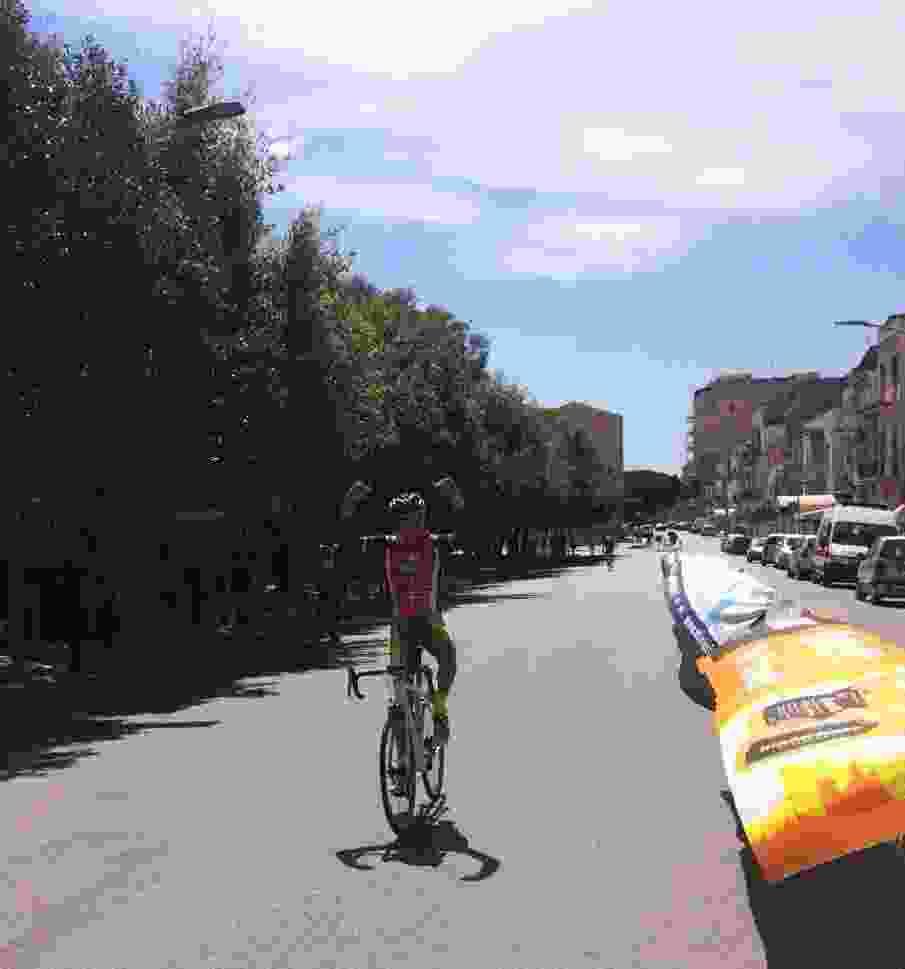 CICLISMO: GRANFONDO DI CASTELVETRANO SELINUNTE BALDASSARE BARBERA DELLA A.S.D. FIAMMA VINCE LA TERZA TAPPA DEL GRAND TOUR SICILIA 2017. QUINTO SUCCESSO CONSECUTIVO