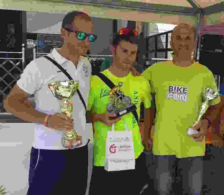 CICLISMO:  8� Trofeo �Citt� di Bisacquino� - 30 agosto 2015. Vince Igor Scafidi della A.S.D. Fiamma