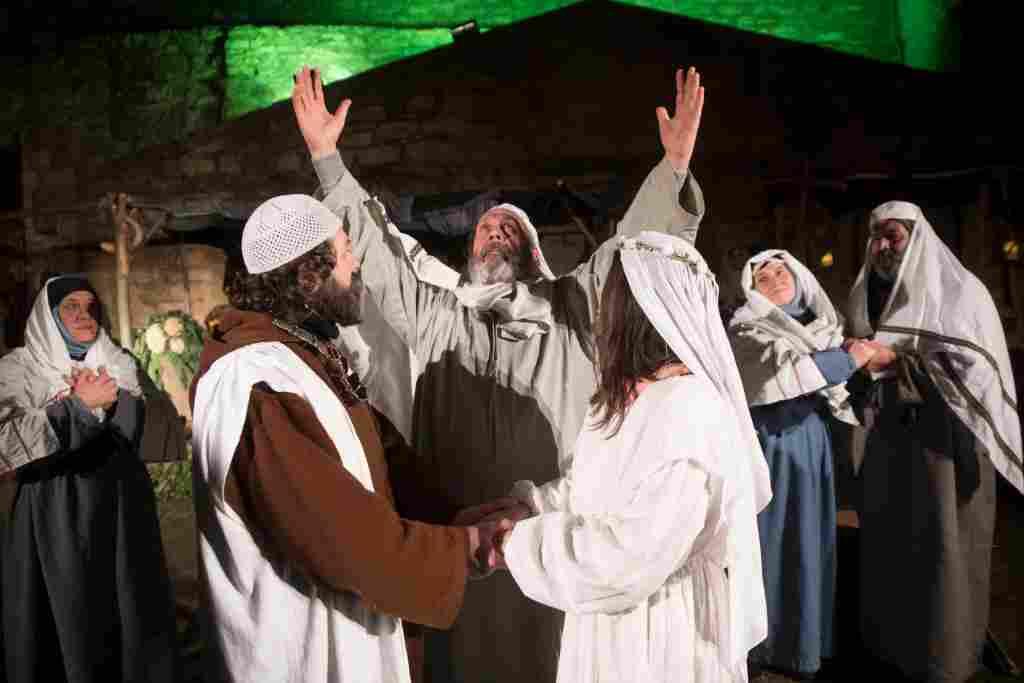 A GANGI LA MAGIA DELLA DECIMA EDIZIONE DEL PRESEPE VIVENTE DA NAZARETH A BETLEMME